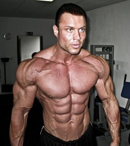picture of a ripped bodybuilder that has stacked anavar