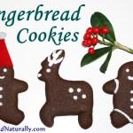 Healthier Gingerbread Cookies Recipe