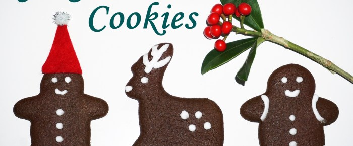 Healthier Gingerbread Cookies Recipe