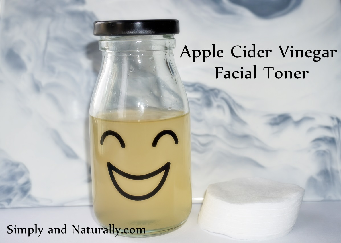 How To Make Apple Cider Vinegar Facial Toner