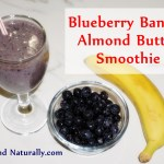 Blueberry Banana Almond Butter Smoothie