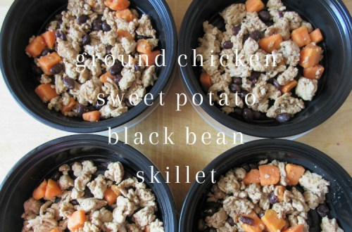 Chicken Sweet Potato Black Bean Skillet