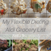 My Flexible Dieting Aldi Grocery List