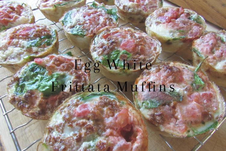 Egg White Frittata Muffin Breakfast Meal Prep