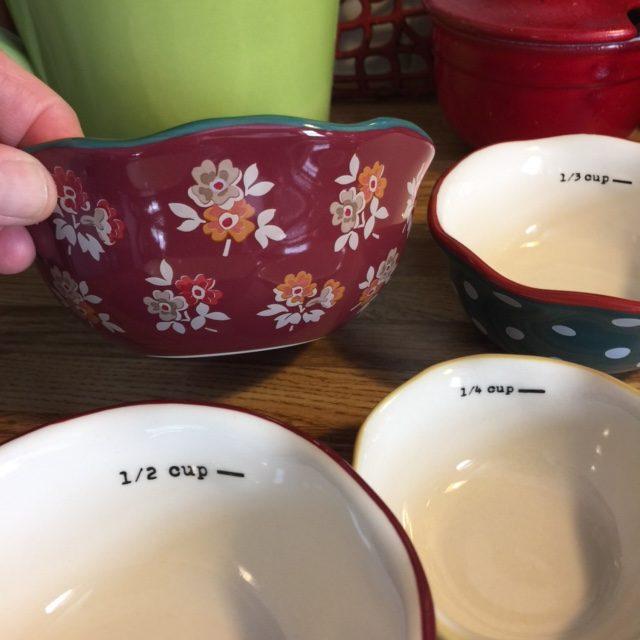 Pioneer Woman Measuring Cups Set