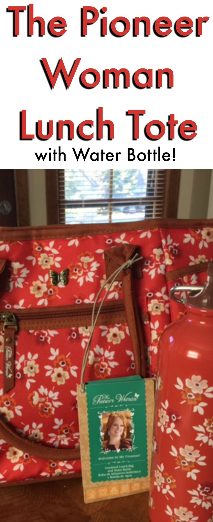 The Pioneer Woman Lunch Tote
