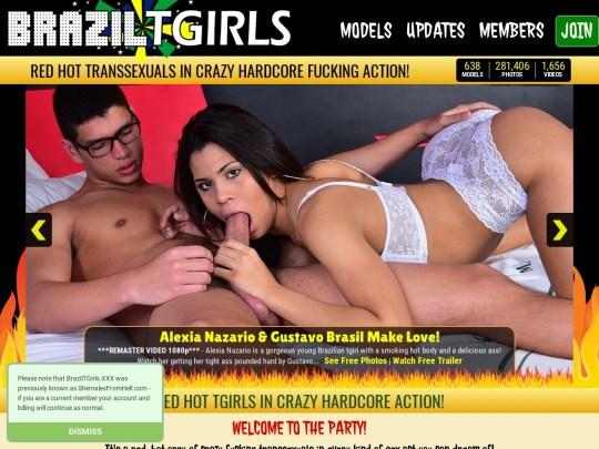 Brazil Tgirls