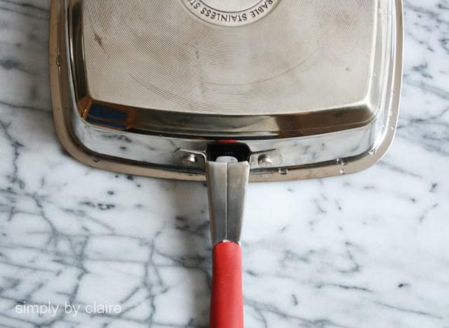 美亞完美燒烤煎鍋Meyer Perfect Grill Pan開箱文