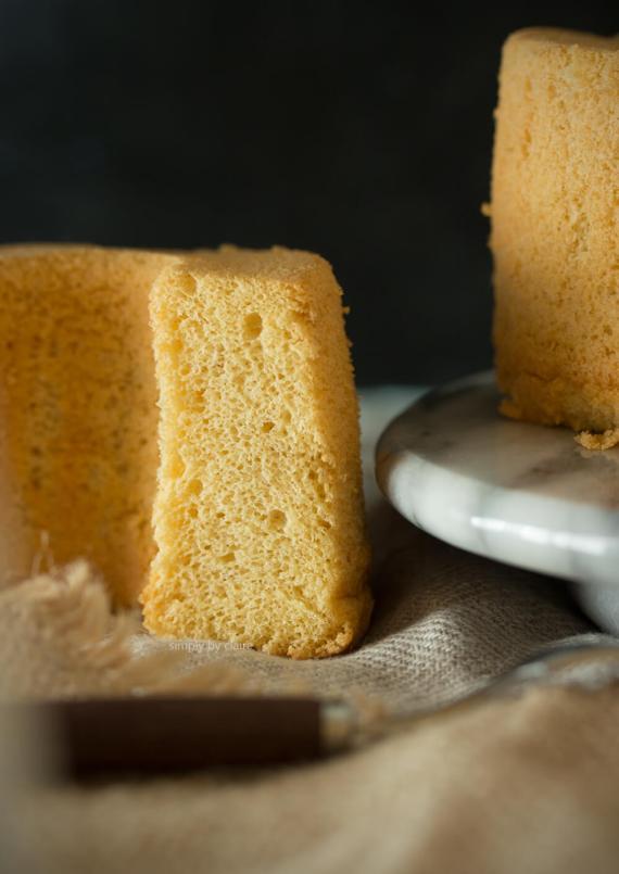 和三盆糖戚風蛋糕