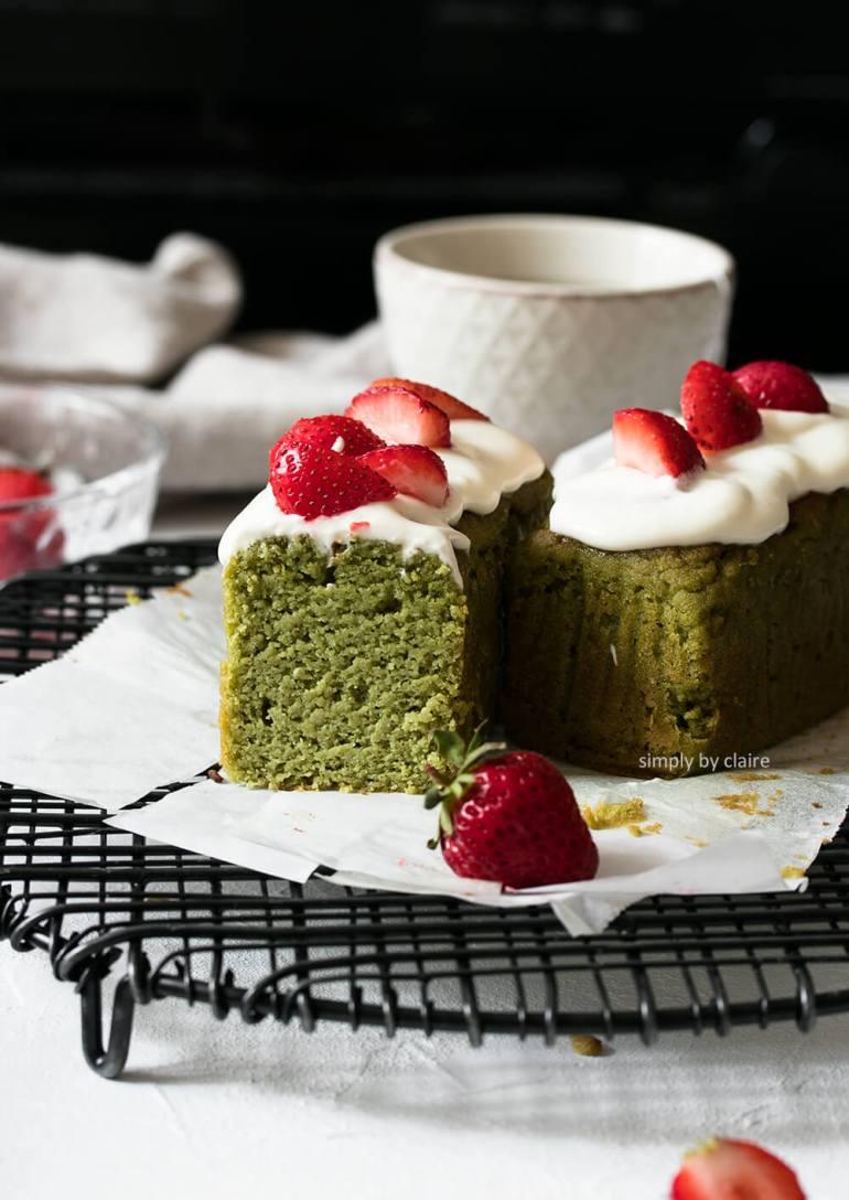 生酮抹茶磅蛋糕