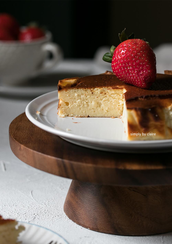 巴斯克焦香乳酪蛋糕