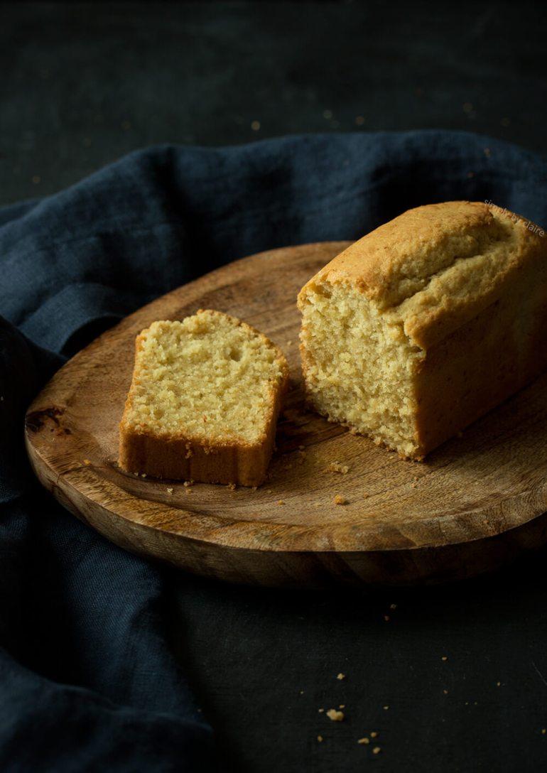 蜂蜜鮮奶油磅蛋糕-無麩質烘焙