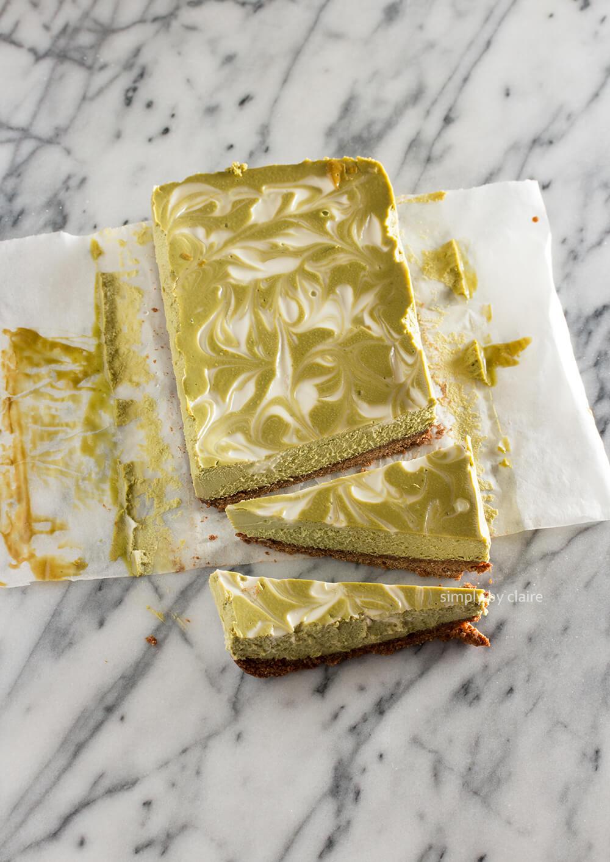 無麩質抹茶大理石乳酪蛋糕