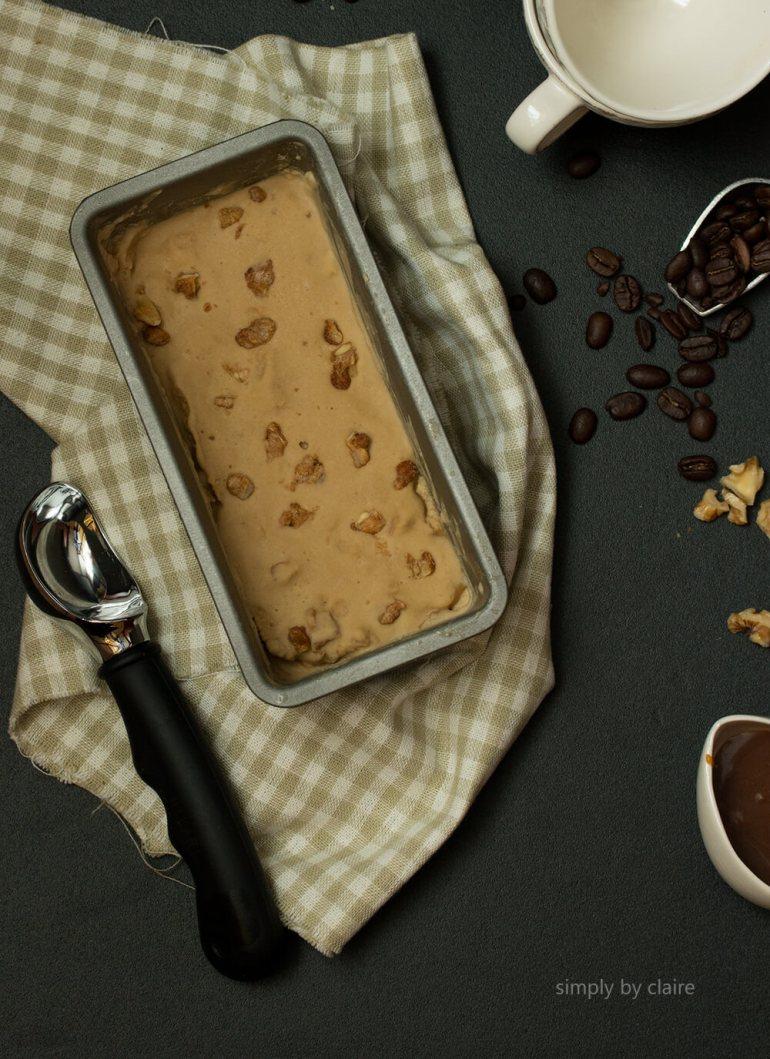 自製咖啡冰淇淋,免攪拌、免冰淇淋機