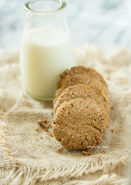 燕麥粉作餅乾