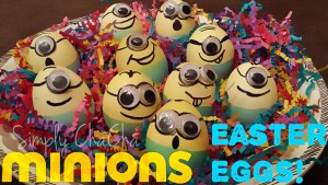 Minion Easter Eggs!