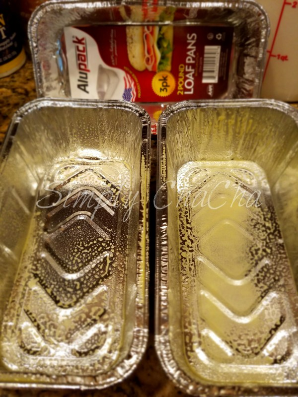 grease loaf pans