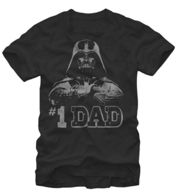 best gifts for Star Wars Fans- #1 Dad - Darth vader Shirt for men - Dads