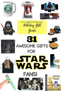 31 Awesome Gifts for Star Wars Fans!