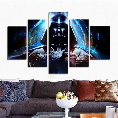 Best gifts for Star Wars fans - art wall Stormtrooper Star Wars movie poster wall decoration painting fine art print on canvas (unframed) far41 50 inch x30 inch