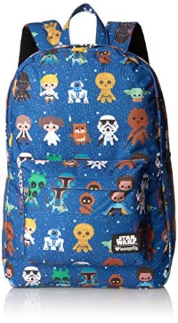Best Gifts For Star Wars Fans - Loungefly Star Wars Baby Character Aop Print Backpack