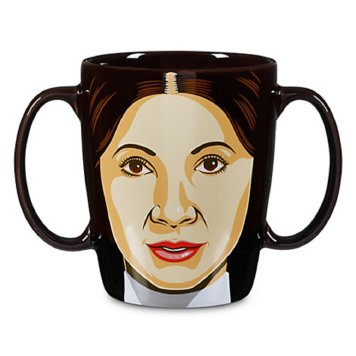 best gifts for Star Wars fans- Star Wars Princess Leia Mug