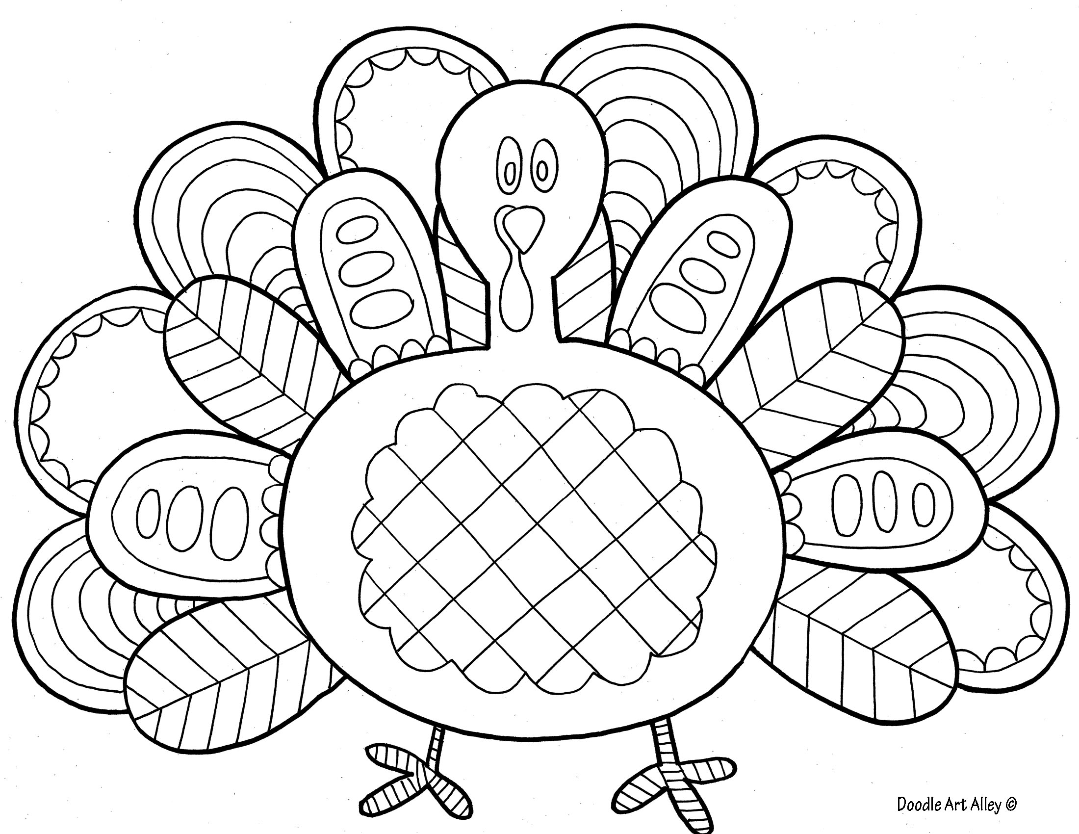 16 Free Thanksgiving Coloring Pages for Kids& Toddlers ⋆ Simply