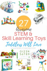 27 Awesome STEM & Skill Learning Toys Toddlers Will Love!