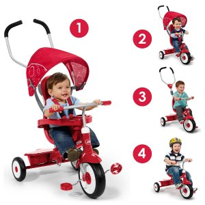 HOLIDAY GIFT GUIDE HOTTEST TOYS 2016: Radio Flyer 4-in-1 Stroll 'N Trike