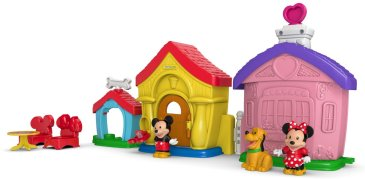 HOLIDAY GIFT GUIDES 2016 HOTTEST TOYS AGES 2-4 Fisher-Price Little People Magic of Disney Mickey and Minnie's House Playset