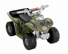 Holiday Gift Guide - Ages 2-4 Power Wheels Camo Quad