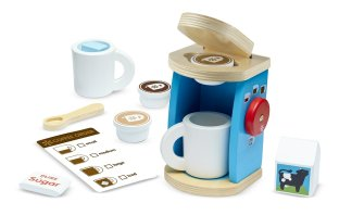 HOLIDAY GIFT GUIDE 2016 HOTTEST TOYS AGES 2-4 Melissa & Doug Wooden Brew & Serve Coffee Set
