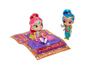 HOLIDAY GIFT GUIDE HOTTEST TOY LIST AGES 2-4 SHIMMER & SHINE FLYING MAGIC CARPET