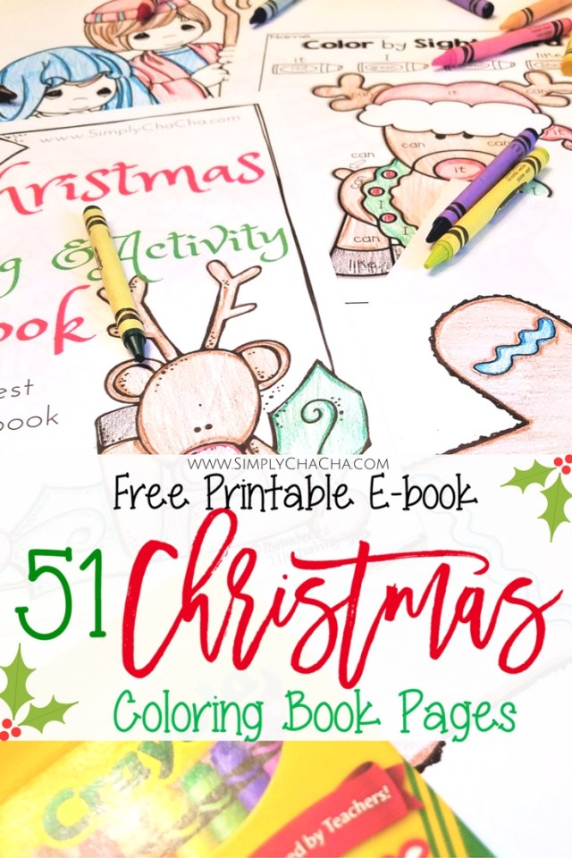 51 of the Best Christmas Coloring Book Pages (Free Printable ...