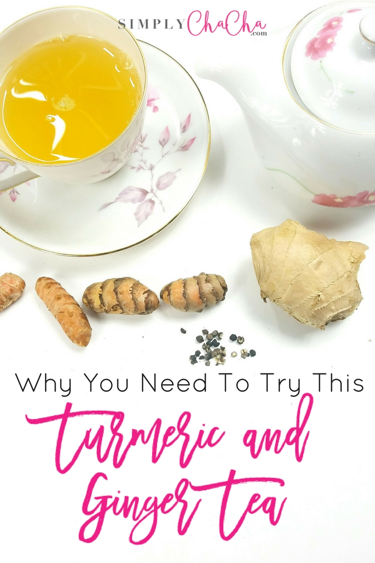 Why You Need To Try This Turmeric & Ginger Tea