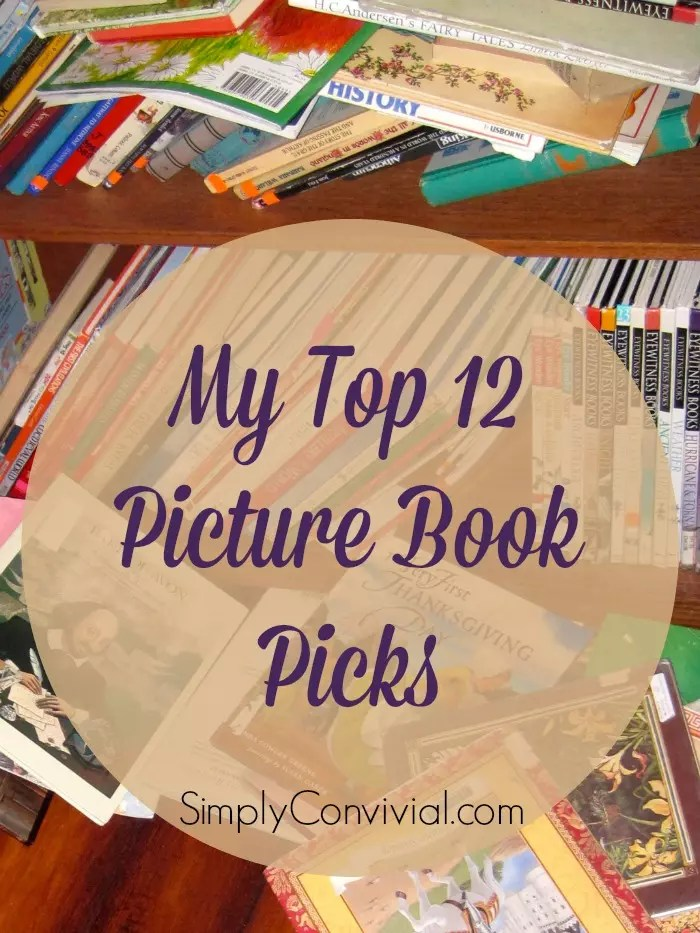 My Top 12 Picture Books