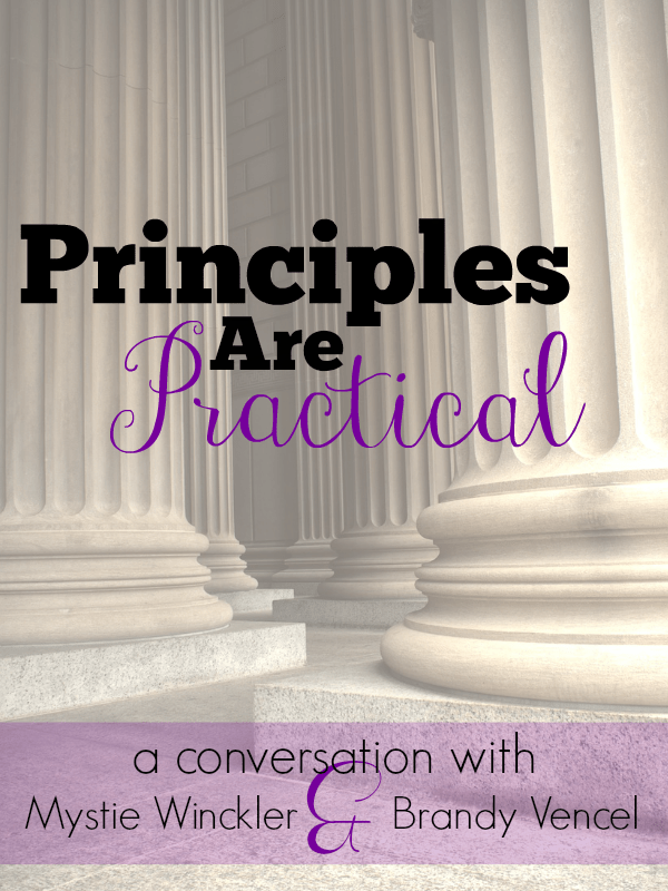 Principles Are Practical