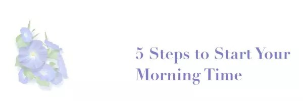 5-steps-morning-time