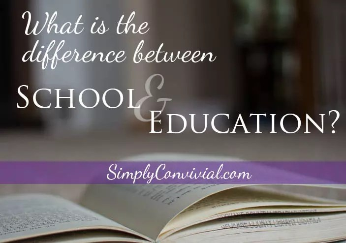 What's so bad about school at home? Nothing. Find out what it really means to home educate and homeschool. School isn't a bad word - it's a beautiful thing.