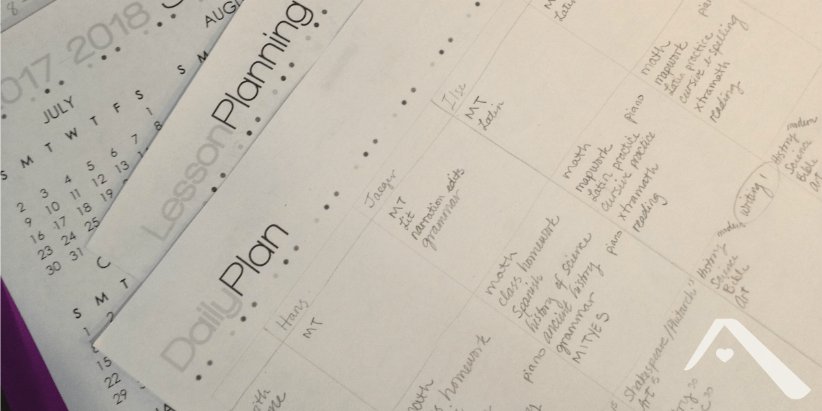 Keeping Track in a Busy Homeschool Day