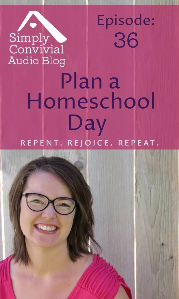 What, out of everything in the plan, is essential to make our homeschool day count?