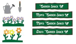 Garden Shack SVG Printables