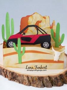 Desert UTV card