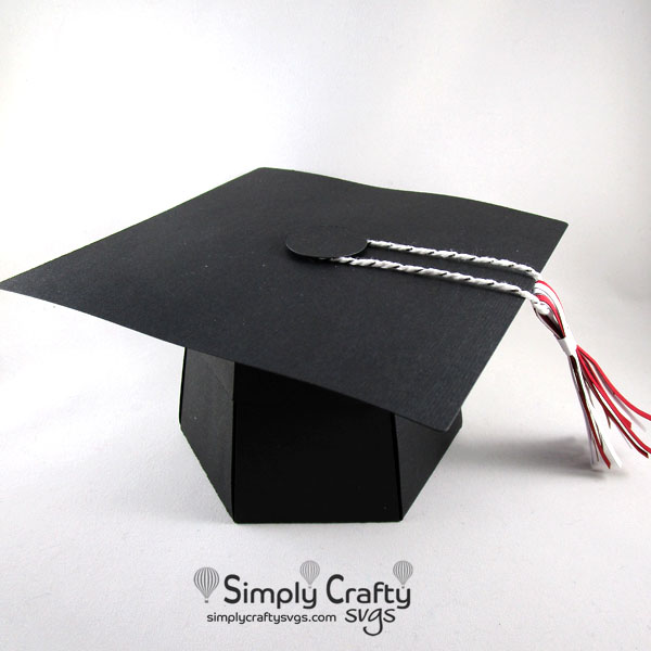 Graduation Explosion Box SVG File
