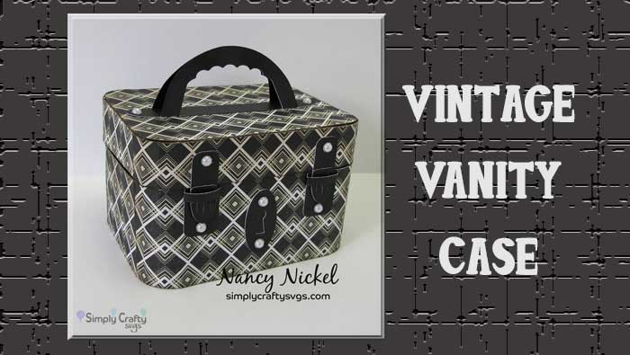 Vintage Vanity Case By DT Nancy