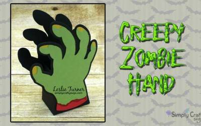 Creepy Zombie Hand by DT Leslie