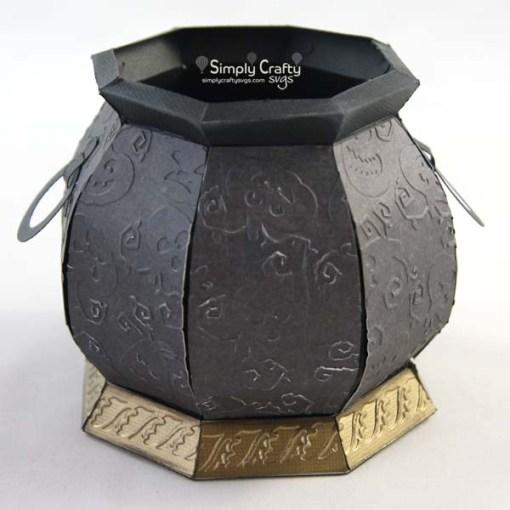 Witch's Cauldron SVG File