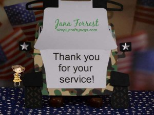 Veteran's Day Card by DT Jana