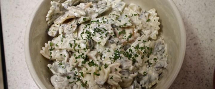 12-4: Pasta with Mushrooms