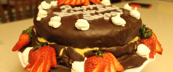 16-37: Double Decadent Brownie Torte